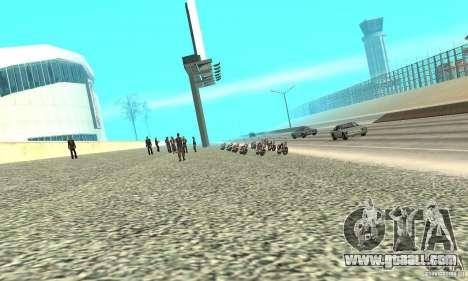 BikersInSa (The BIKERS In SAN ANDREAS) for GTA San Andreas second screenshot