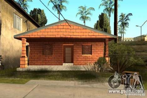 New textures of houses on Grove Street for GTA San Andreas second screenshot