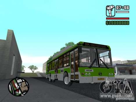 LIAZ 5292.70 for GTA San Andreas back left view