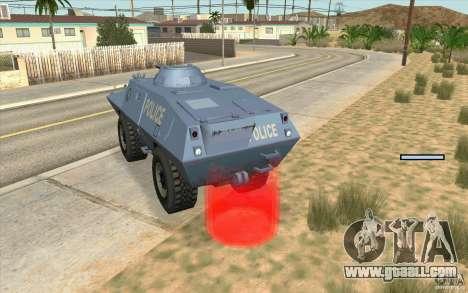 Guard on BTR for GTA San Andreas third screenshot