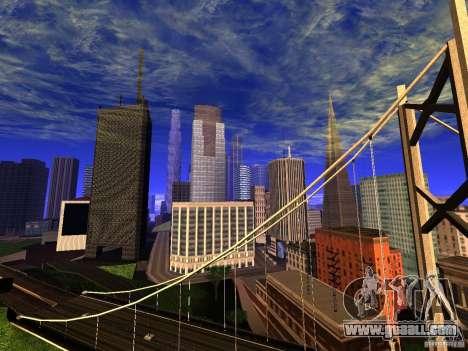 New San Fierro V1.4 for GTA San Andreas second screenshot