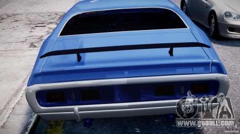 Dodge Charger RT 1971 v1.0 for GTA 4 wheels