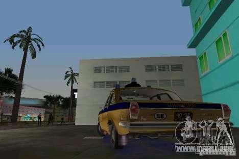 Gaz-24 Militia for GTA Vice City back left view