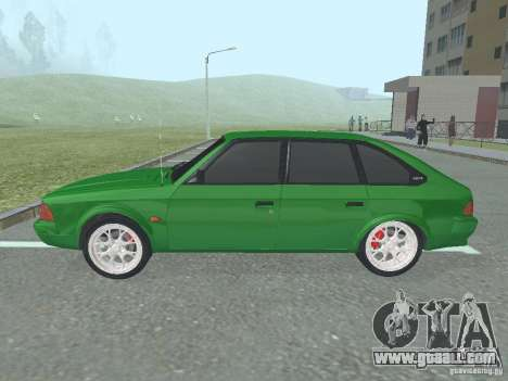 Moskvich 2141 for GTA San Andreas back left view