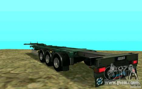 Trailer Schmitz for GTA San Andreas