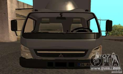 Mitsubishi Fuso Center for GTA San Andreas right view
