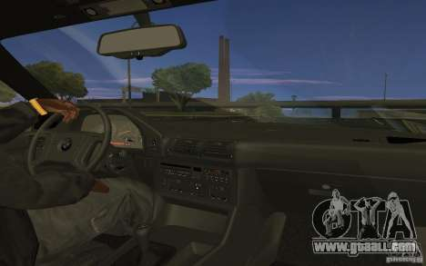 BMW 525 (E34) V.2 for GTA San Andreas left view