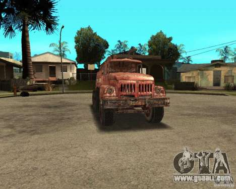 ZIL 131 for GTA San Andreas back view