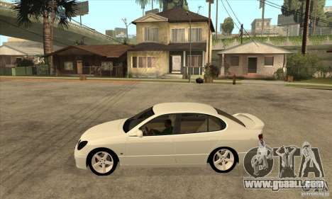 Lexus GS300 2003 for GTA San Andreas left view