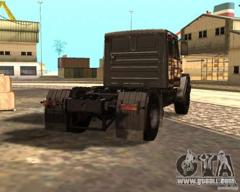 ZIL 5417 for GTA San Andreas back left view