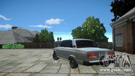 VAZ 2107 v1.0 for GTA 4 right view
