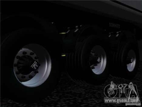 Trailer Schmitz for GTA San Andreas inner view