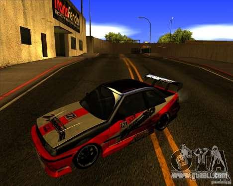 GTA VI Futo GT custom for GTA San Andreas right view