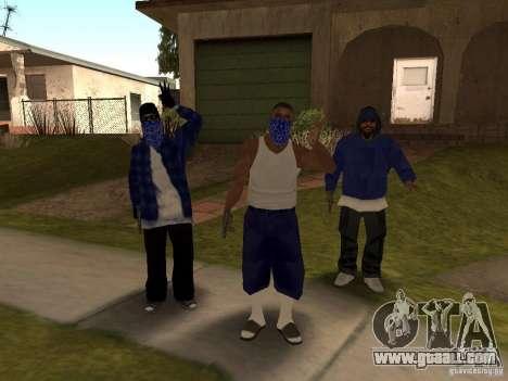 Crips Gang for GTA San Andreas second screenshot