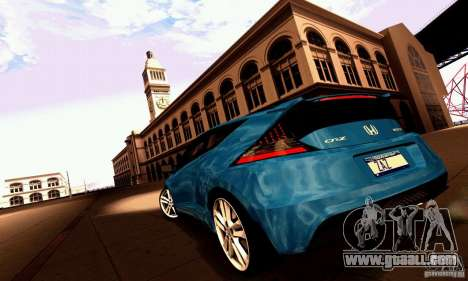 Honda CR-Z 2010 V2.0 for GTA San Andreas side view
