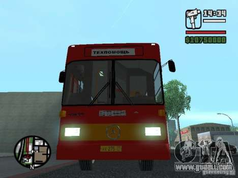 Mercedes-Benz O325 for GTA San Andreas side view