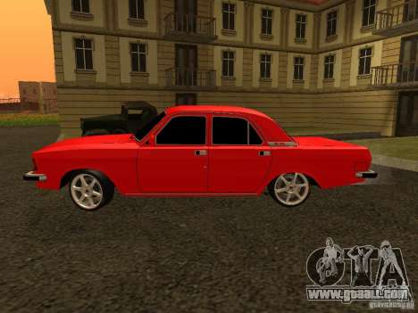 GAZ 3102 Volga for GTA San Andreas back left view