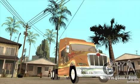 Peterbilt 387 skin 3 for GTA San Andreas inner view