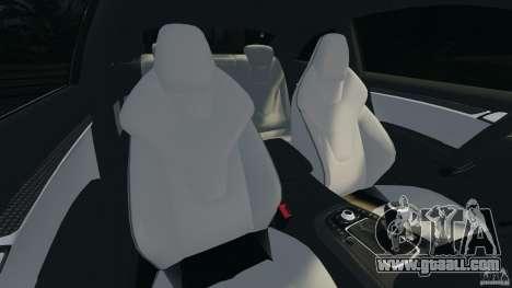 Audi S5 for GTA 4 inner view