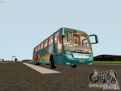 Mercedes-Benz Vissta Buss LO for GTA San Andreas left view