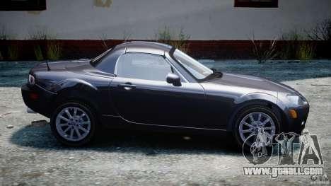 Mazda MX-5 for GTA 4 left view