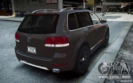 Volkswagen Touareg R50 for GTA 4 back left view