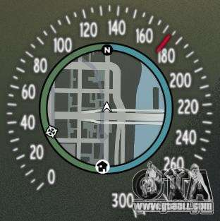 Speedometer IV (Skin 8) for GTA 4