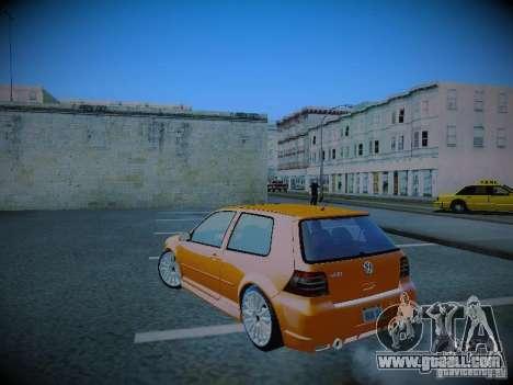 Volkswagen Golf Mk4 R32 for GTA San Andreas left view
