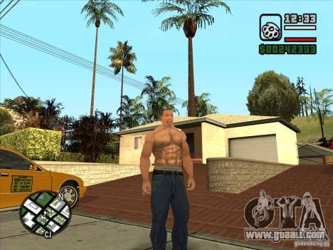 White Cj for GTA San Andreas third screenshot