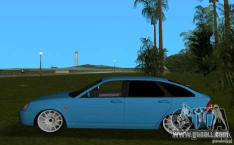 Lada Priora Hatchback v2.0 for GTA Vice City left view