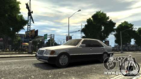 Mercedes-Benz 600SEL wheel1 tinted for GTA 4 left view