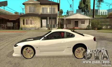 Nissan Silvia for GTA San Andreas left view