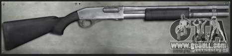 M870 2 Tone for GTA San Andreas