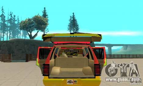 Ford Explorer (Jurassic Park) for GTA San Andreas side view