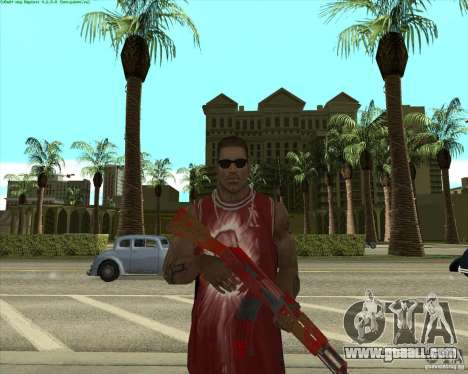 Blood Weapons Pack for GTA San Andreas eighth screenshot