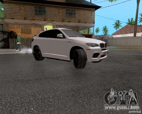 BMW X6 for GTA San Andreas back view