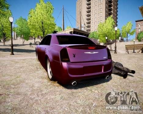 Chrysler 300 SRT8 DUB 2012 for GTA 4 left view
