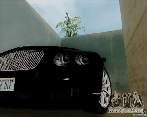 Bentley Continental GT V1.0 for GTA San Andreas right view