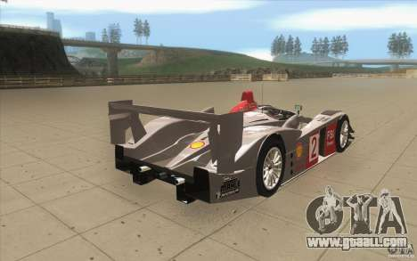 Audi R10 LeMans - Stock for GTA San Andreas side view