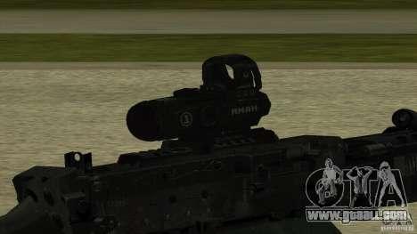M240 for GTA San Andreas third screenshot