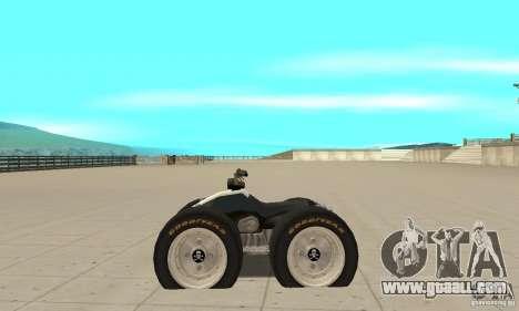 QUAD BIKE Custom Version 1 for GTA San Andreas left view