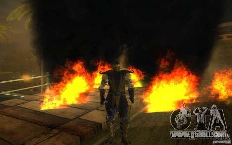 Scorpion v2.2 MK 9 for GTA San Andreas fifth screenshot