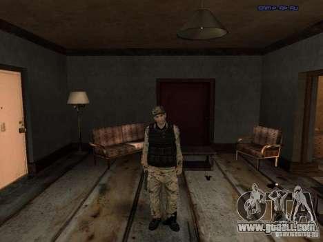 Army Soldier Skin for GTA San Andreas third screenshot
