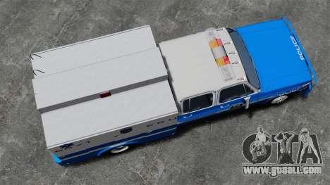 GMC C3500 NYPD ESU for GTA 4 right view