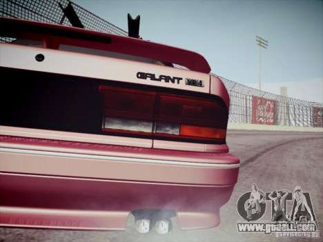 Mitsubishi Galant 1992 JDM for GTA San Andreas back view