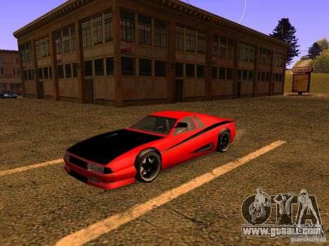 New Cheetah for GTA San Andreas