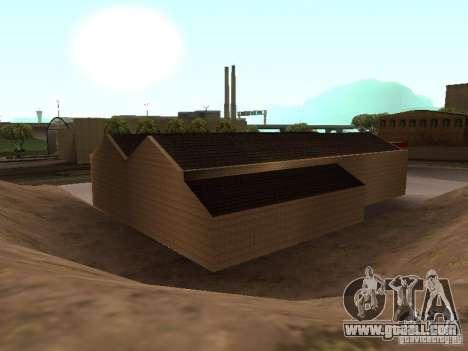 The Ferrari garage in Dorothy for GTA San Andreas sixth screenshot