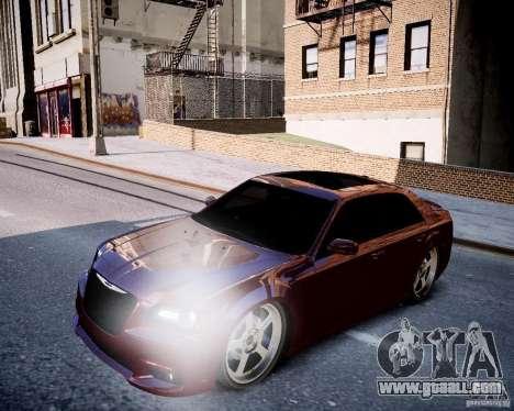 Chrysler 300 SRT8 DUB 2012 for GTA 4 side view