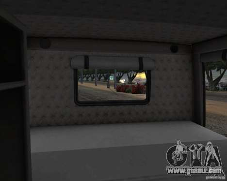 Western Star 4900 EX for GTA San Andreas inner view