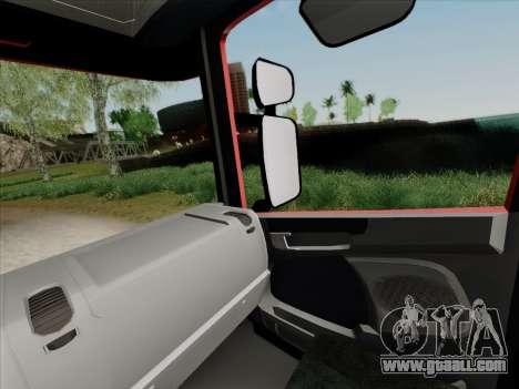 Scania R620 Brahma for GTA San Andreas wheels